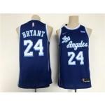 Men's Los Angeles Lakers #24 Bryant Blue Throwback 2021 Nike NBA Jersey