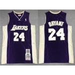 Los Angeles Lakers #24 Kobe Bryant Purple Hall of Fame Class of 2020 Hardwood Classics Jersey