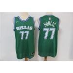 NBA Dallas Mavericks #77 Luka Doncic Green Nike Authentic New Jersey