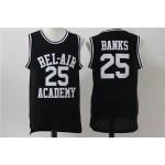 NBA Bel-Air Academy #25 Carlton Banks Black Jersey