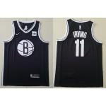 NBA Brooklyn Nets #11 Kyrie Irving Black 2020 Nike Swingman Jersey