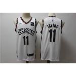 NBA Brooklyn Nets #11 Kyrie Irving White 2019-20 City Edition Nike Swingman Jersey