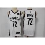 NBA Brooklyn Nets #72 Biggie White 2019-20 City Edition Nike Swingman Jersey