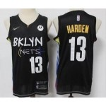 Brooklyn Nets #13 James Harden Black 2021 City Edition Nike Swingman Jersey