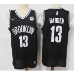 Brooklyn Nets #13 James Harden Black 2021 Nike Swingman Jersey