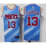 Brooklyn Nets #13 James Harden City Edition Blue Jersey