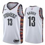 Brooklyn Nets #13 James Harden White 2020 City Edition Nike Swingman Jersey