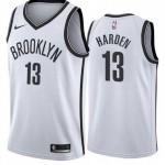 Brooklyn Nets #13 James Harden White 2021 Nike Swingman Jersey