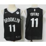 Men's Brooklyn Nets #11 Kyrie Irving Black Nike 2021 New Season Swingman City Edition Jersey
