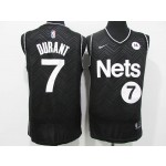 Men's Brooklyn Nets #7 Kevin Durant Black 2021 Swingman Nike Jersey