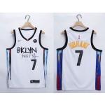 NBA Brooklyn Nets #7 Kevin Durant White 2021 Nike Swingman Jersey