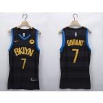 Men's Brooklyn Nets #7 Kevin Durant Black 2020-21 Fashion NBA Jersey