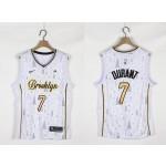 Nets #7 Kevin Durant White 2020-2021 Christmas Nike Swingman Jersey
