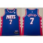 Brooklyn Nets #7 Kevin Durant Blue Classic Edition Swingman Jersey