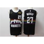 NBA Denver Nuggets #27 Jamal Murray Black 2019-20 City Edition Nike Swingman Jersey