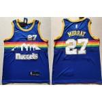 NBA Denver Nuggets #27 Jamal Murray Blue Nike Swingman Jersey