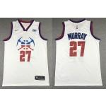 NBA Denver Nuggets #27 Jamal Murray White 2020-21 Earned Edition Swingman Jersey