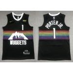 NBA Denver Nuggets #1 Michael Porter Jr. Black 2019-20 City Edition Nike Swingman Jersey