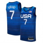 USA Basketball 2020 Summer Olympics #7 Kevin Durant Blue Player Nike Jersey
