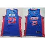 NBA Detroit Pistons #23 Blake Griffin Blue Nike Jersey