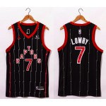 NBA Raptors #7 lowry Black-red 20-21 new Jersey