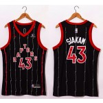 NBA Raptors Siakam #43 Black-red 20-21 new Jersey