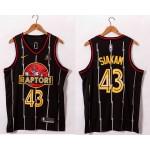 NBA Raptors #43 Pascal Siakam Black 2021 Swingman Jersey