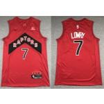 NBA Raptors #7 Kyle Lowry Red 2020-21 Icon Edition Nike Swingman Jersey