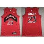 NBA Raptors #23 Fred VanVleet Red 2020-21 Icon Edition Nike Swingman Jersey