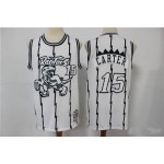 Raptors Vince Carter #15 White Dragon Limited Edition Throwback Jersey