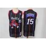 NBA Raptors #15 Vince Carter Purple Hardwood Classics Mesh Jersey