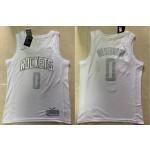 Rockets #0 Russell Westbrook White 2020 Nike MVP Swingman Jersey
