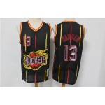 NBA Rocket #13 James Harden Big Rocket Black Retro limited Jersey