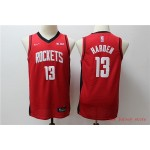 Youth Rockets #13 James Harden Red Basketball Swingman Limited Edition Jersey