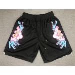 Miami Heat x Pink Panther Just Don Black Basketball Shorts