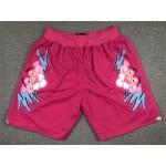 Miami Heat x Pink Panther Just Don Pink Basketball Shorts