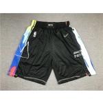 Brooklyn Nets Black 2021 City Edition Shorts