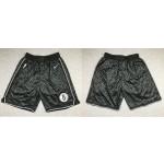 Men's Brooklyn Nets Black 2021 Swingman Nike Shorts