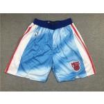 NBA Brooklyn Nets City Edition Blue Shorts