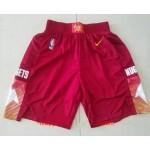 Men's Denver Nuggets Red 2021 City Edition NBA Swingman Shorts
