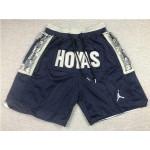 Georgetown Hoyas Just Don Hoyas Navy College Basketball Shorts