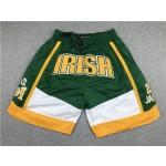 St.Vincent-St.Mary High School Just Don #23 LeBron James Irish Green Basketball Shorts
