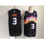 NBA Phoenix Suns #3 Chris Paul Black 2020-21 City Edition Nike Swingman Jersey