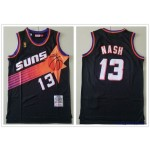 NBA Throwback Phoenix Suns Steve Nash #13 Black Mitchell & Ness Jersey