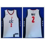 NBA Washington Wizards #2 John Wall White 2019-20 City Edition Nike Swingman Jersey