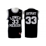 LOWER MERION SCHOOL Black #33 Bryant jersey