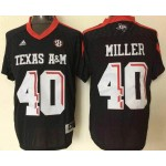 Texas A&M Aggies #40 black jersey