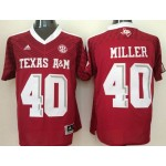 Texas A&M Aggies #40 red jersey