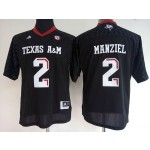 Women Texas A&M Manziel #2 black jersey