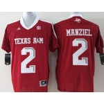 Youth Texas A&M Aggies Red #2 Manziel jersey